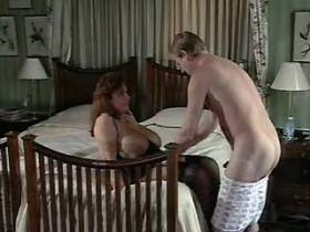 Chesty mom penetrated by her hubby