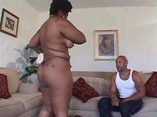 Big assed ebony milf crazy screwed