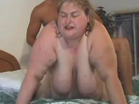 Wild superfatted mature gets facial
