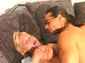 Saucy milf with big tits loves oral