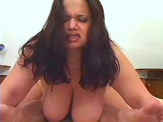 Fatty with huge boobs screwed in hotel