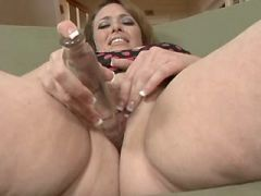 Mature fatty licked and sucks cock
