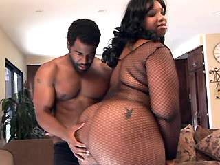 Chubby ebony whore spoils black guy