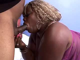 Black macho drills mega fat ebony