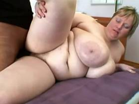Large mature whore fucked by latin man