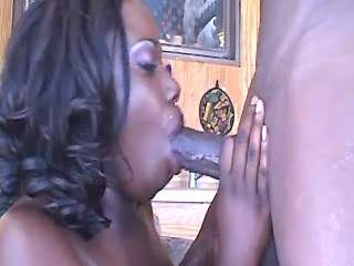 Chocolate guy drills fat ebony slut