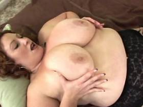 Chubby milf hard fucks and gets cum